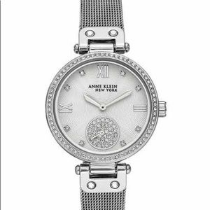 Anne Klein NY Women's 34mm Crystal Accent Watch